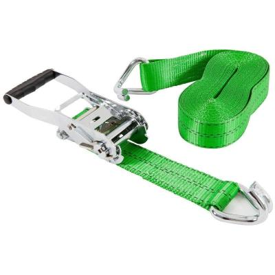 2 in. x 30 ft. Chrome Ratchet Tie Down