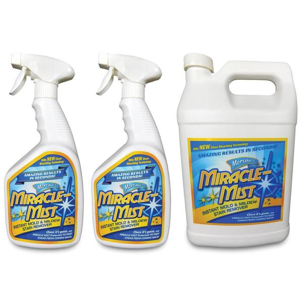 32 oz. Mold and Mildew Stain Remover (2-Pack) with 1 Gal. Mold and Mildew Stain Remover Set