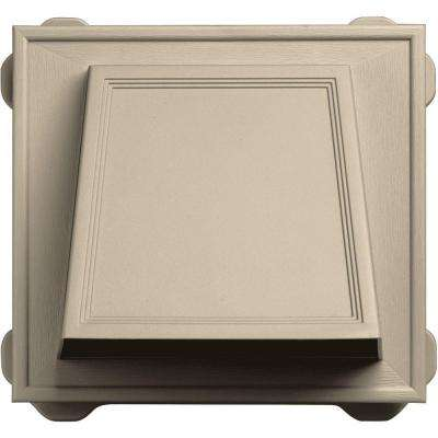 6 in. Hooded Siding Vent #049-Almond