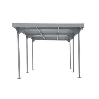 Palladium 9.5 ft. W x 17 ft. D Silver Steel Car Shelter