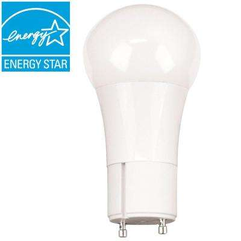 60-Watt Equivalent Soft White A19 GU24 Dimmable LED Light Bulb