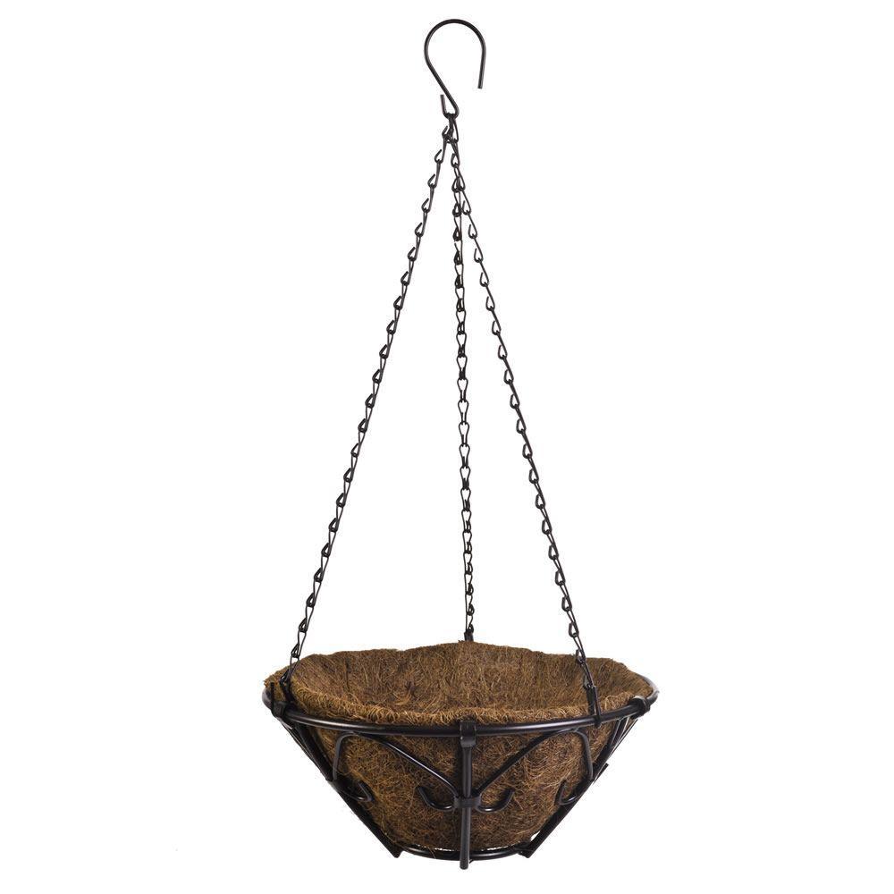 CobraCo Kingston 12 in. Metal Hanging Basket