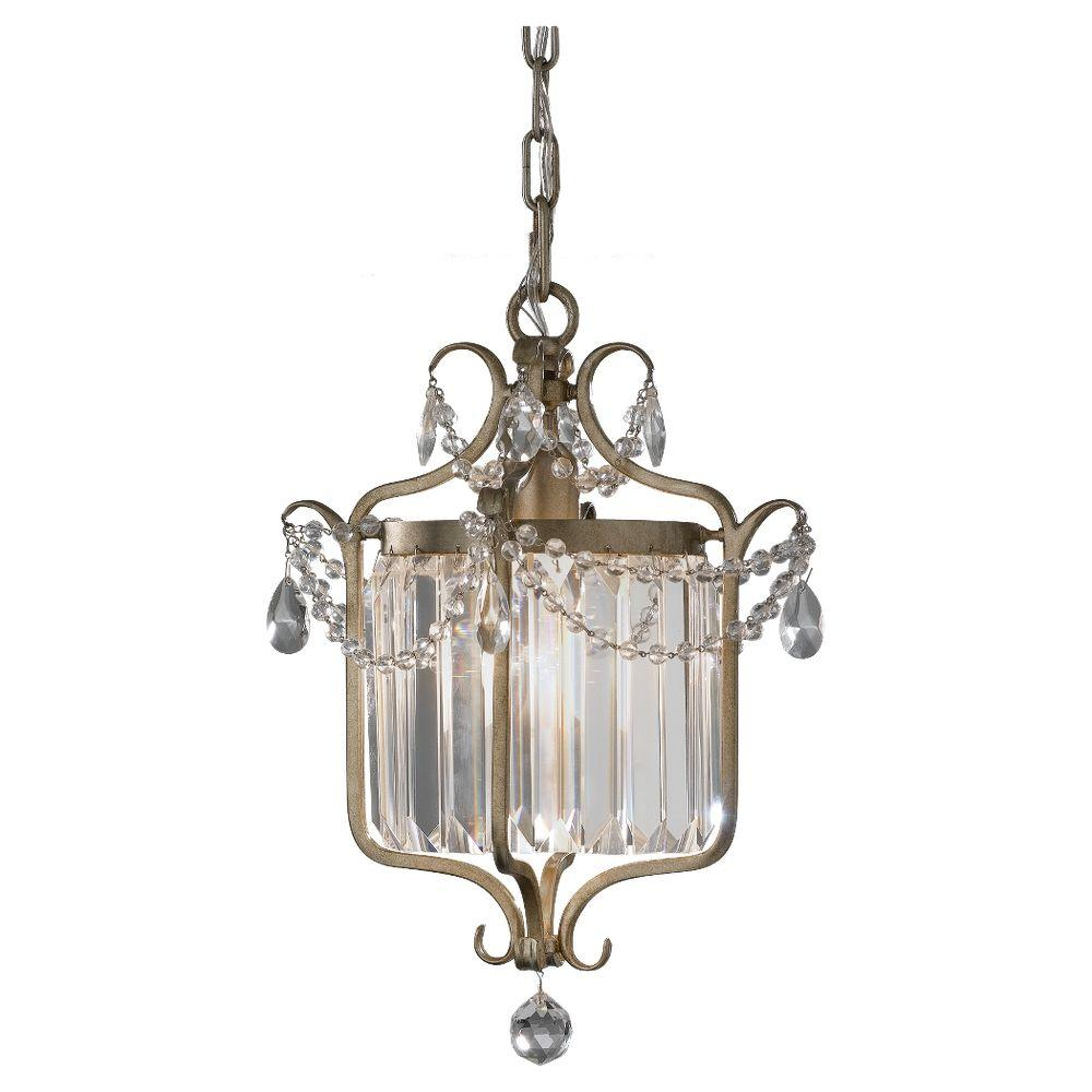 Gianna 1-Light Gold Pendant