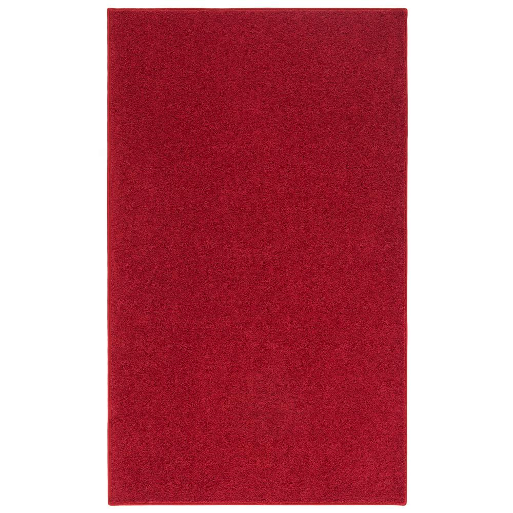 Create Drama With Black Carpets And Rugs: Nance Carpet And Rug OurSpace Red 4 Ft. X 6 Ft. Bright