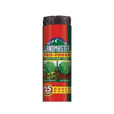 4 ft. x 300 ft. Heavy-Duty Weed Barrier Landscape Fabric