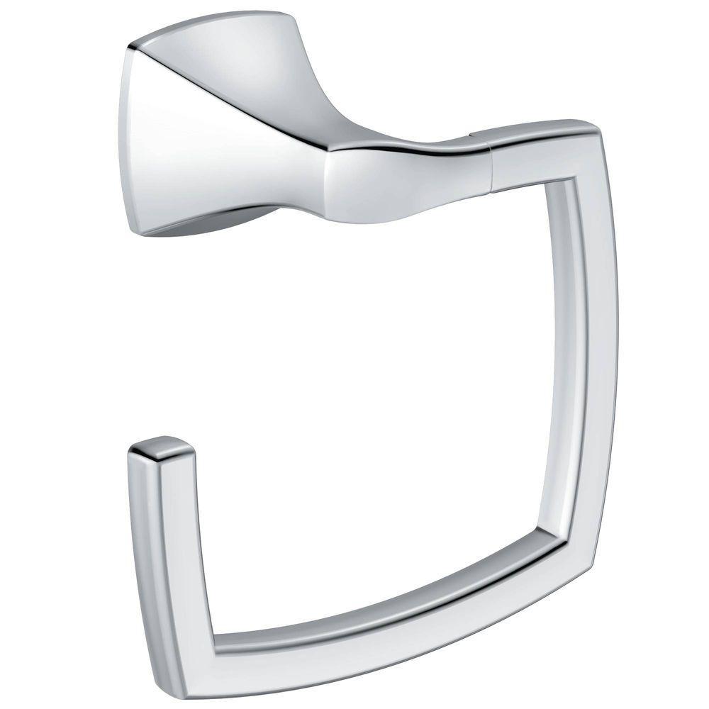 MOEN Voss Towel Ring in Chrome