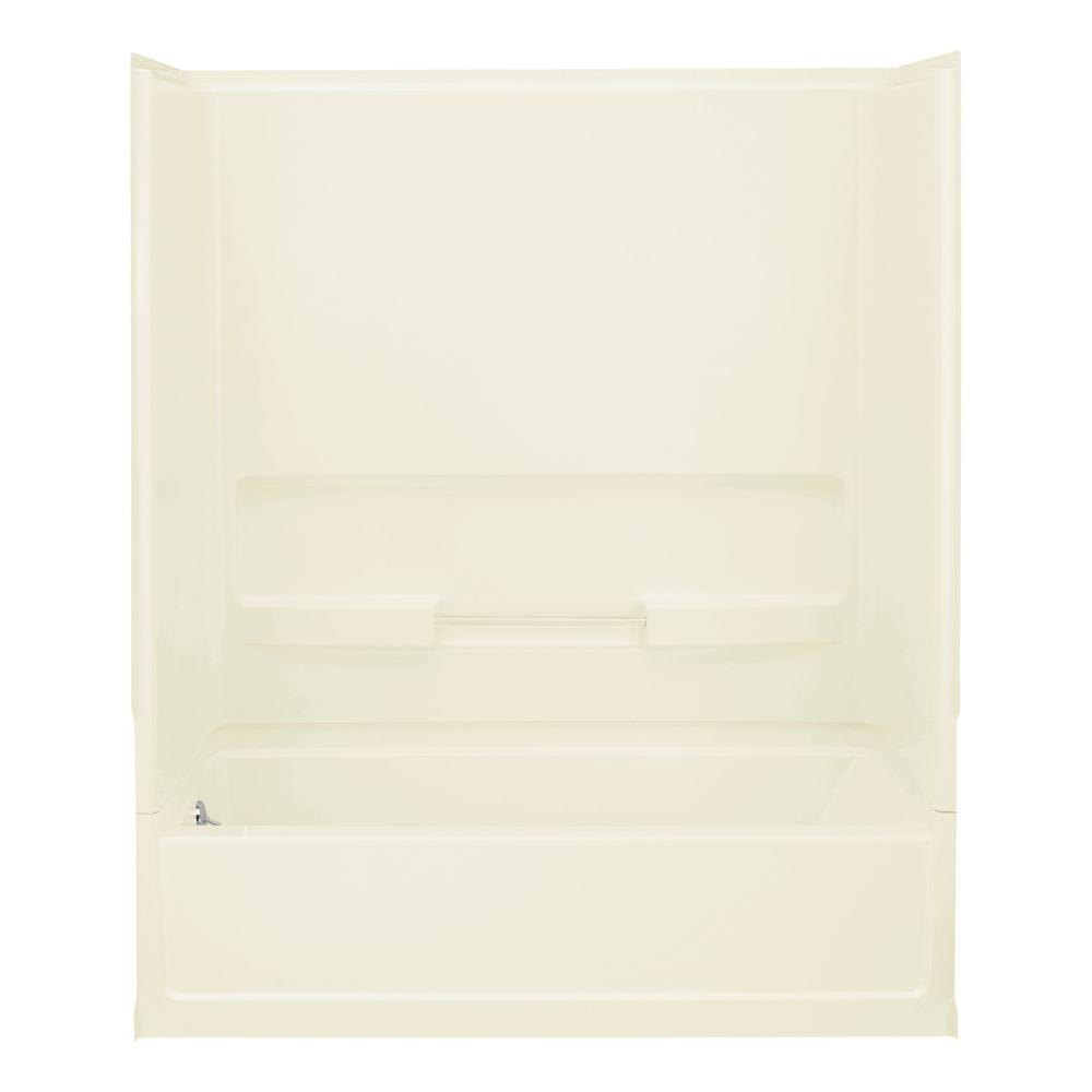 STERLING Advantage 30 in. x 60 in. x 72 in. Bath and Shower Kit with ...