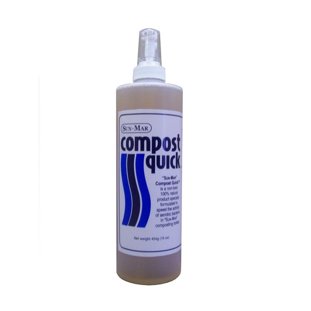Sun-Mar Waterless Toilet Compost Starter and 16 oz. Compo...