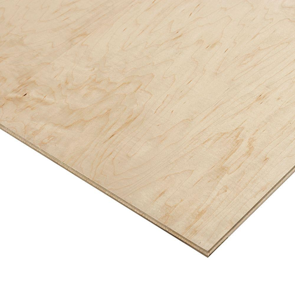 Columbia Forest Products 1/2 in. x 2 ft. x 8 ft. PureBond Prefinished Maple Project Panel (Free Custom Cut Available)