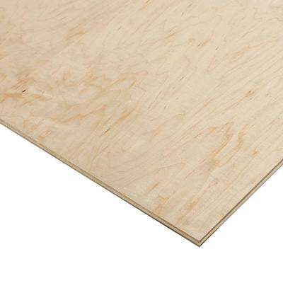 1/2 in. x 2 ft. x 8 ft. PureBond Prefinished Maple Project Panel (Free Custom Cut Available)