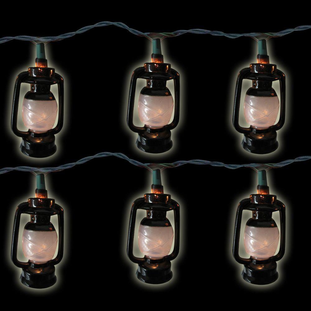 10-Light Lamp Clear Light Set (Set of 2)