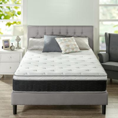 12 in. Firm Hybrid Euro Top Supportive Full Mattress