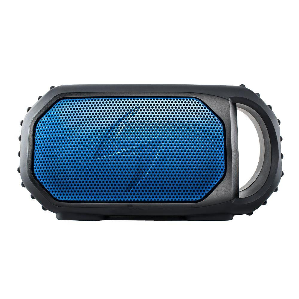 Ecoxgear ecostone portable outdoor bluetooth speaker blue for F d portable speakers