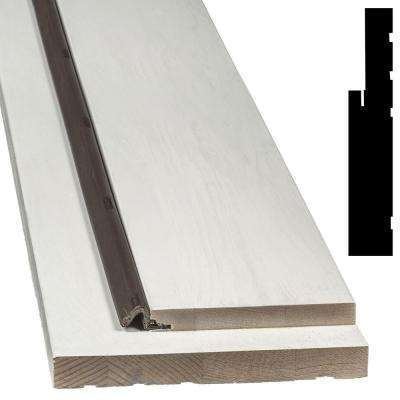 73 in. x 81 in. x 6-9/16 in. Patio Door Frame Jamb Kit for Mill Sill