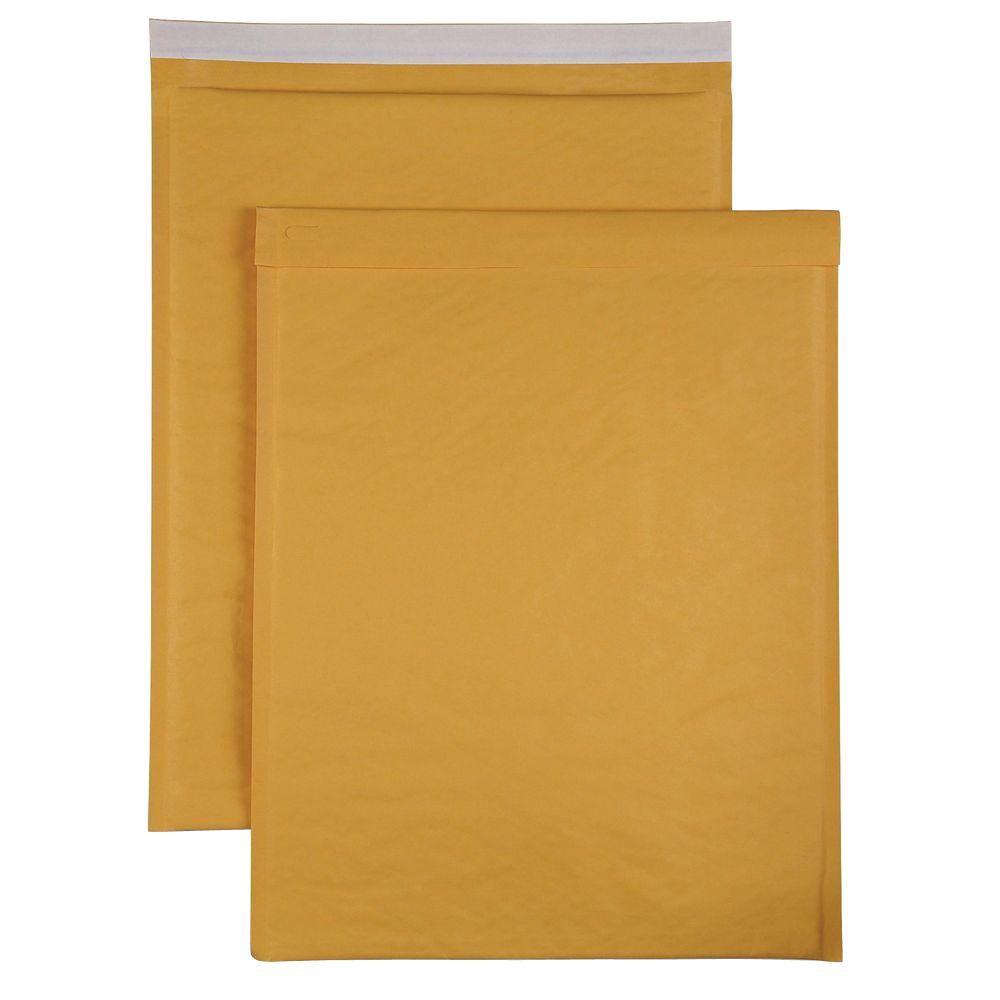 Sparco Bubble Cushioned Mailers Size 7 Envelope Kraft 50 Carton