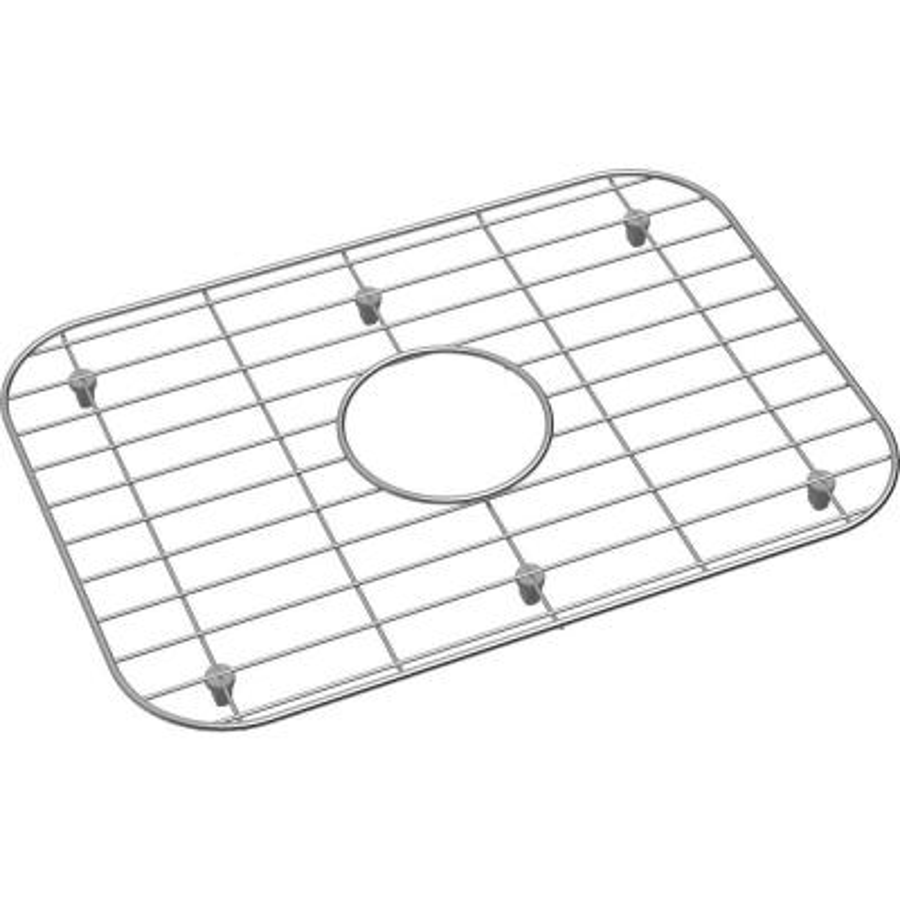 Dayton 17.5 in. x 12.25 in. Bottom Grid for Kitchen Sink in Stainless Steel