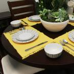 Gibson Home Classic Burst Decorated12-Piece Dinnerware Set Made in Ceramic