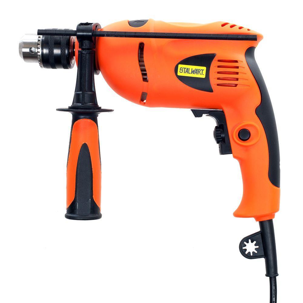 Stalwart 120-Volt 1/2 inch Corded Hammer Drill by Stalwart