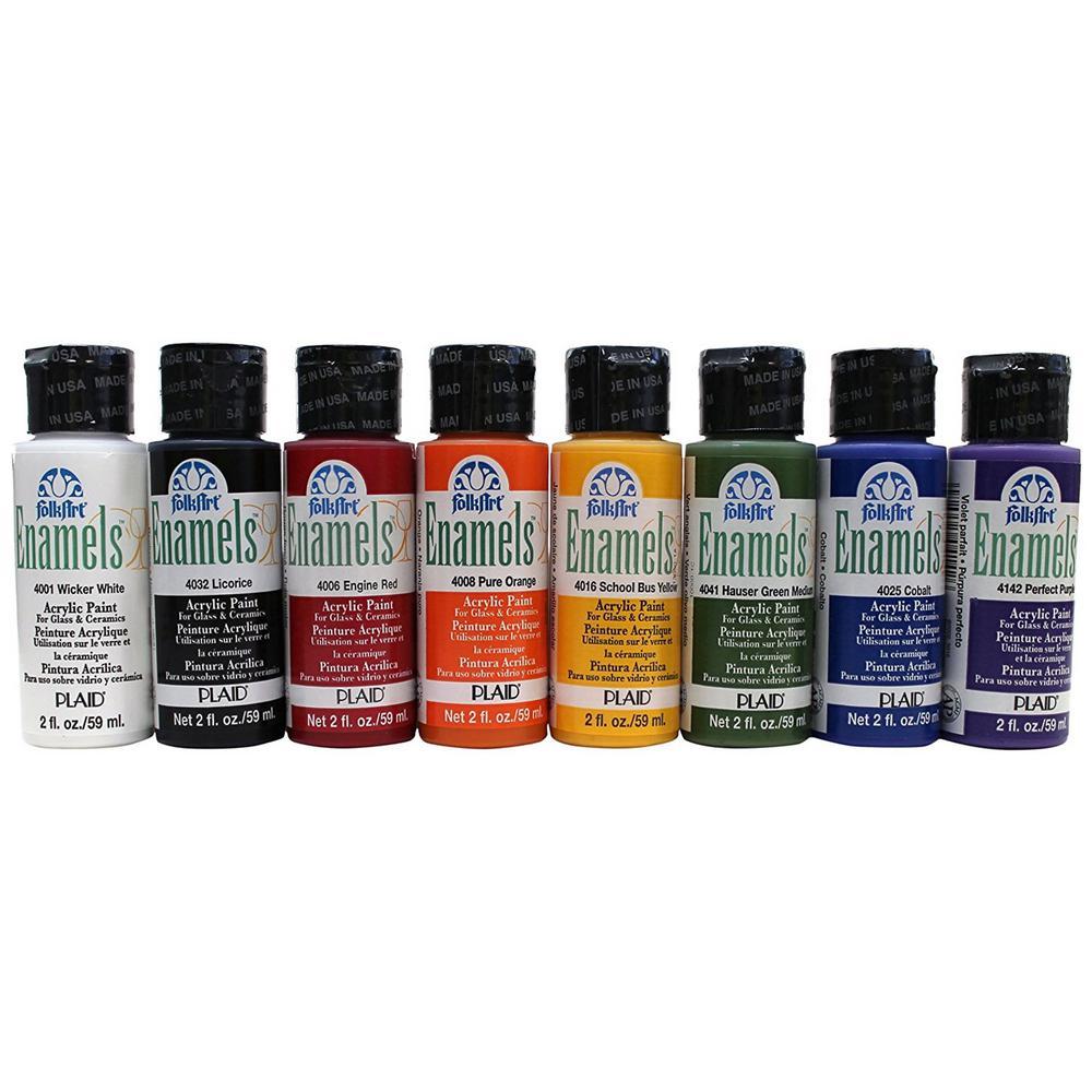 Acrylic Enamel Paint >> Folkart Enamel Beginner Set