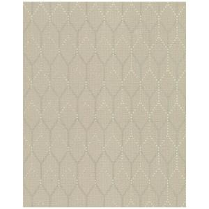 York Wallcoverings, Inc Hexagon Shadows Wallpaper by York Wallcoverings,