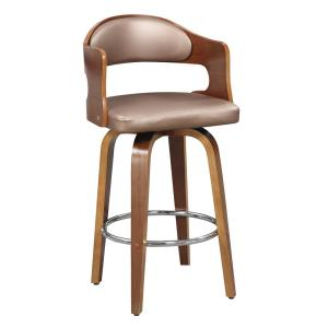 Magnificent Ac Pacific 27 In Copper Modern Faux Leather Counter Seat Unemploymentrelief Wooden Chair Designs For Living Room Unemploymentrelieforg
