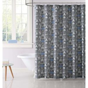 Roboto Printed 72 inch Multiple Shower Curtain by