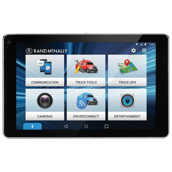 Rand Mcnally Overdryve 7 Pro Truck Navigation With 7 In Display Bluetooth And Siriusxm Ready 7pro The Home Depot