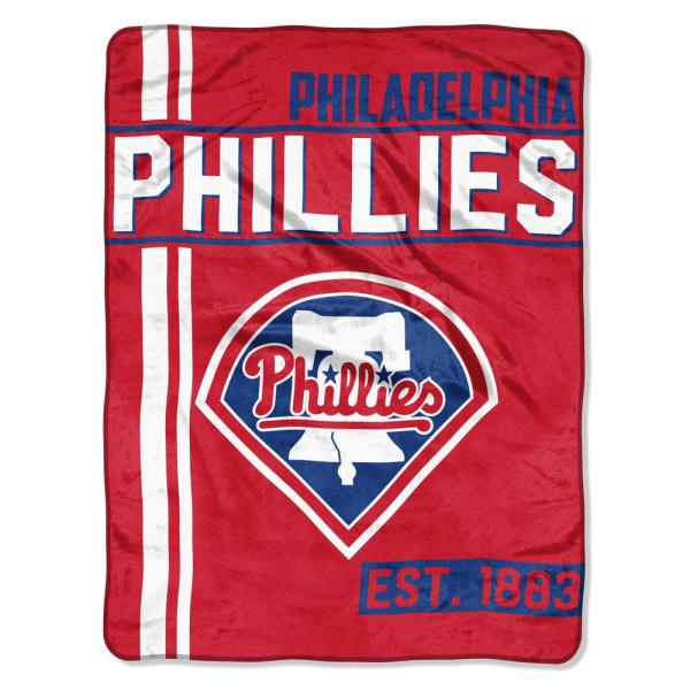 Philadelphia Phillies Polyester Throw Blanket