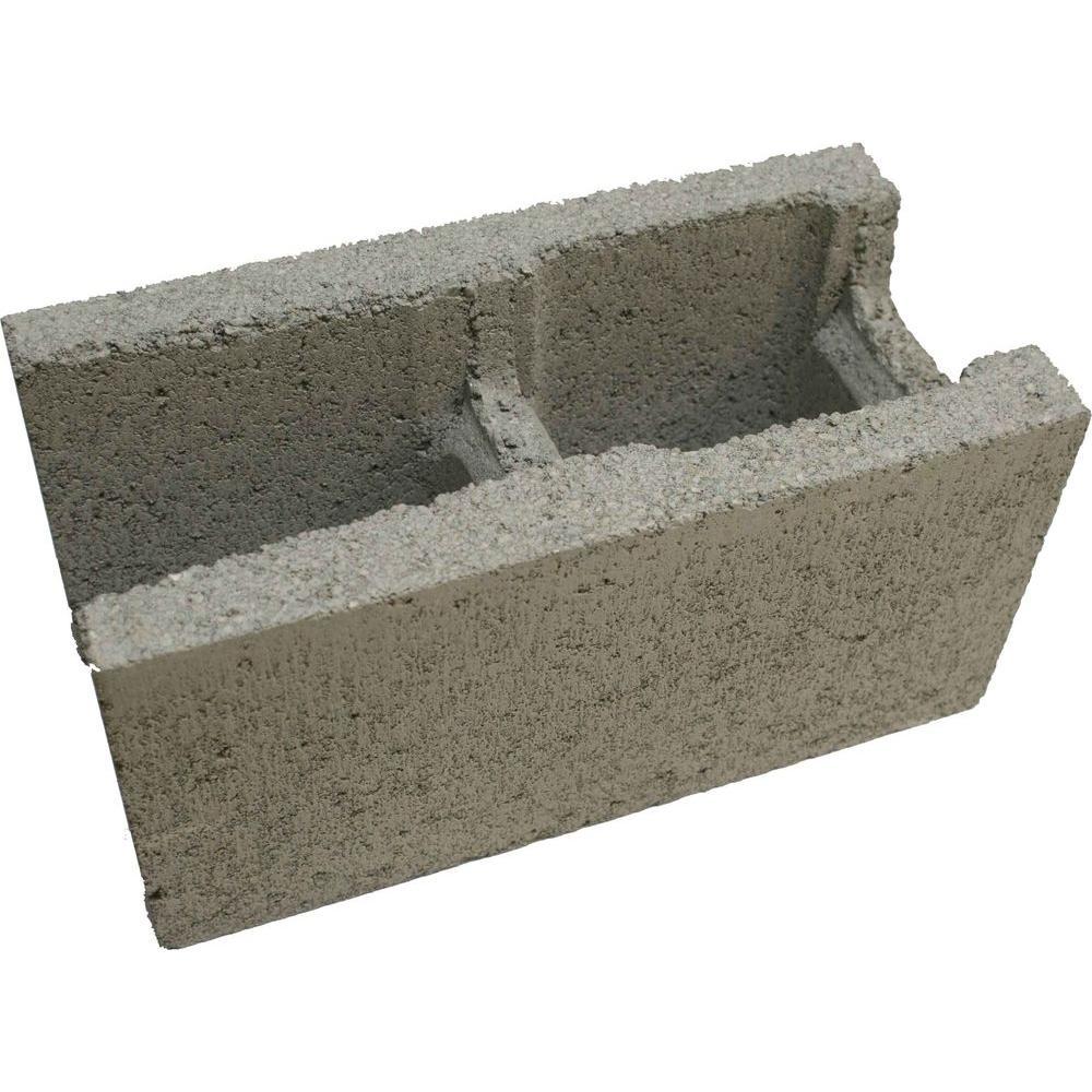 Home Depot Concrete Blocks : In gray concrete block the