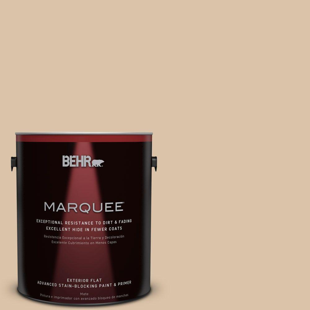 BEHR MARQUEE Home Decorators Collection 1-gal. #hdc-CT-06 Country Linens Flat Exterior Paint