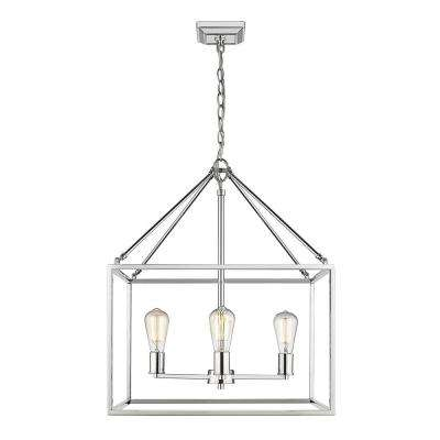 Wesson Collection 4-Light Chandelier in Chrome