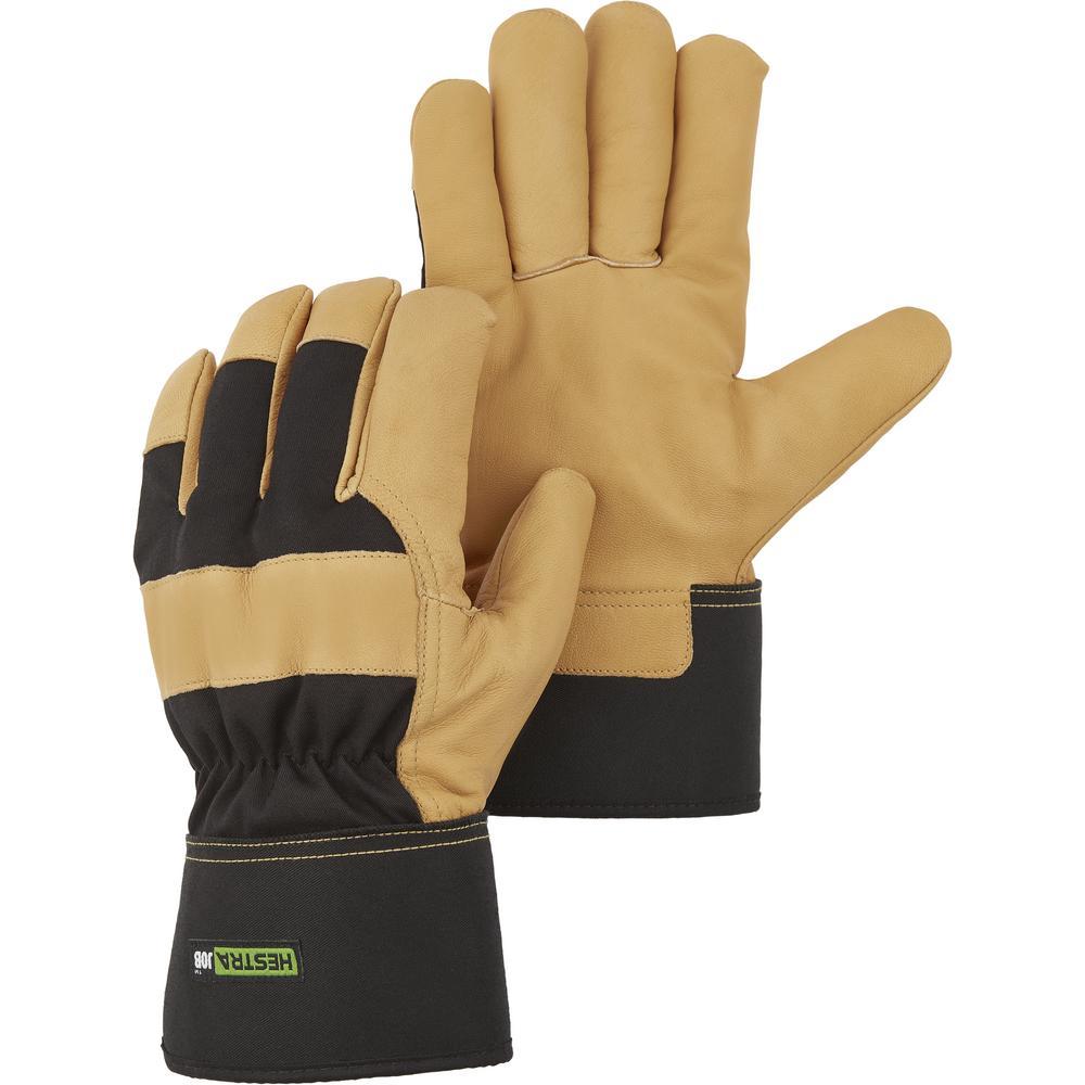 Large Tantel Goatskin Cold Weather Gloves