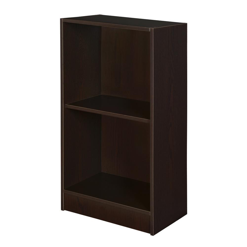 Md Truffle Two-Shelf Bookcase