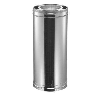 DuraPlus 6 in. x 12 in. Stainless Steel Triple-Wall Chimney Stove Pipe