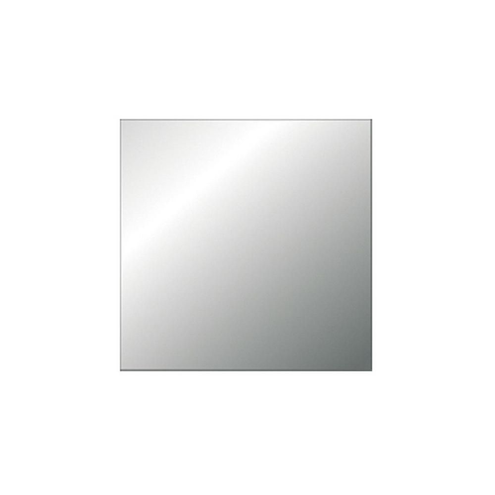 Shape Products 30 in. x 36 in. Frame-Less 1/8 in. Thick Clear Glass Mirror