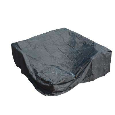90.5 in. L x 90.5 in. W Plus Large Square Patio Dining and Sofa Set Cover