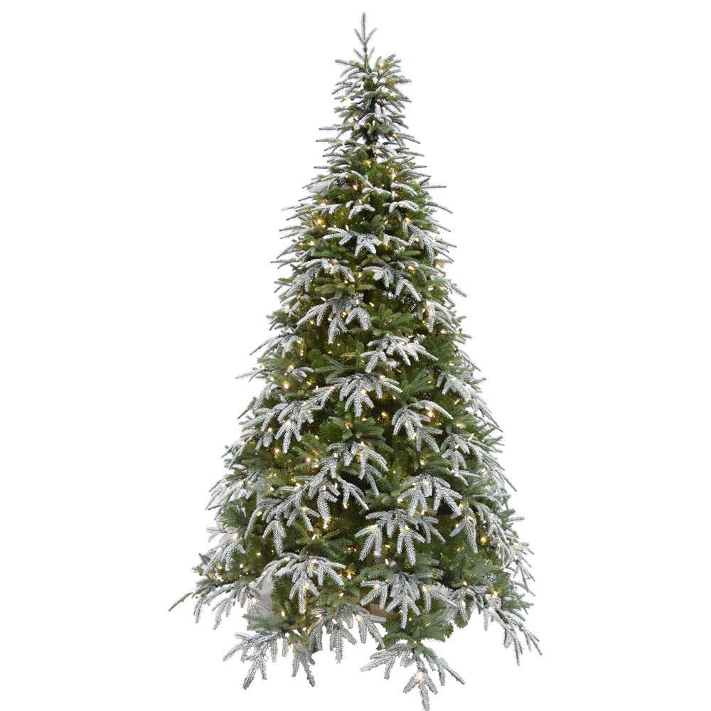 9 ft. Hunter Fir Artificial Christmas Tree with Smart String Lighting