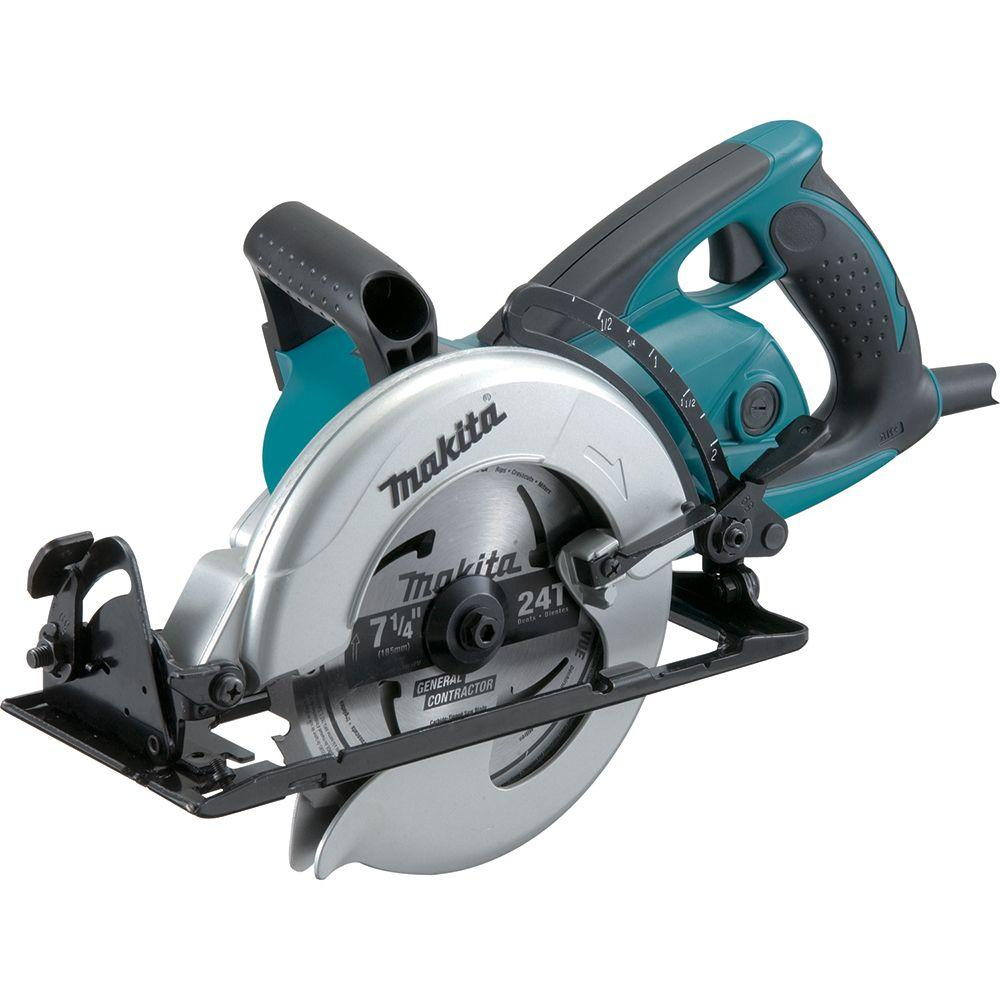Makita 15 amp 7 14 in corded hypoid circular saw with 515 degree makita 15 amp 7 14 in corded hypoid circular saw with 515 greentooth Images