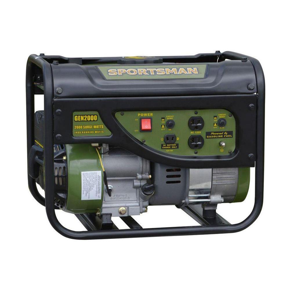 Sportsman 20001400Watt Gasoline Powered Portable Generator