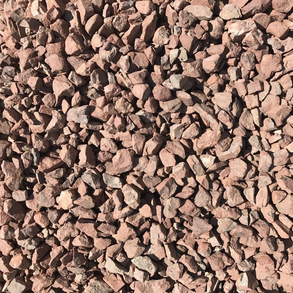Butler Arts 0.50 cu. ft. 40 lbs. 3/4 in. Burnt Sienna Brown Decorative Landscaping Gravel