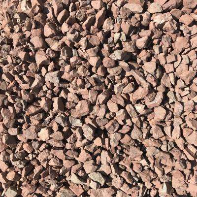27.50 cu. ft. 3/4 in. Burnt Sienna Brown Decorative Landscaping Gravel (2200 lbs. Super Sack)