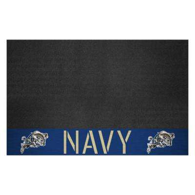 NCAA U.S. 26 in. x 42 in. Naval Academy Grill Mat