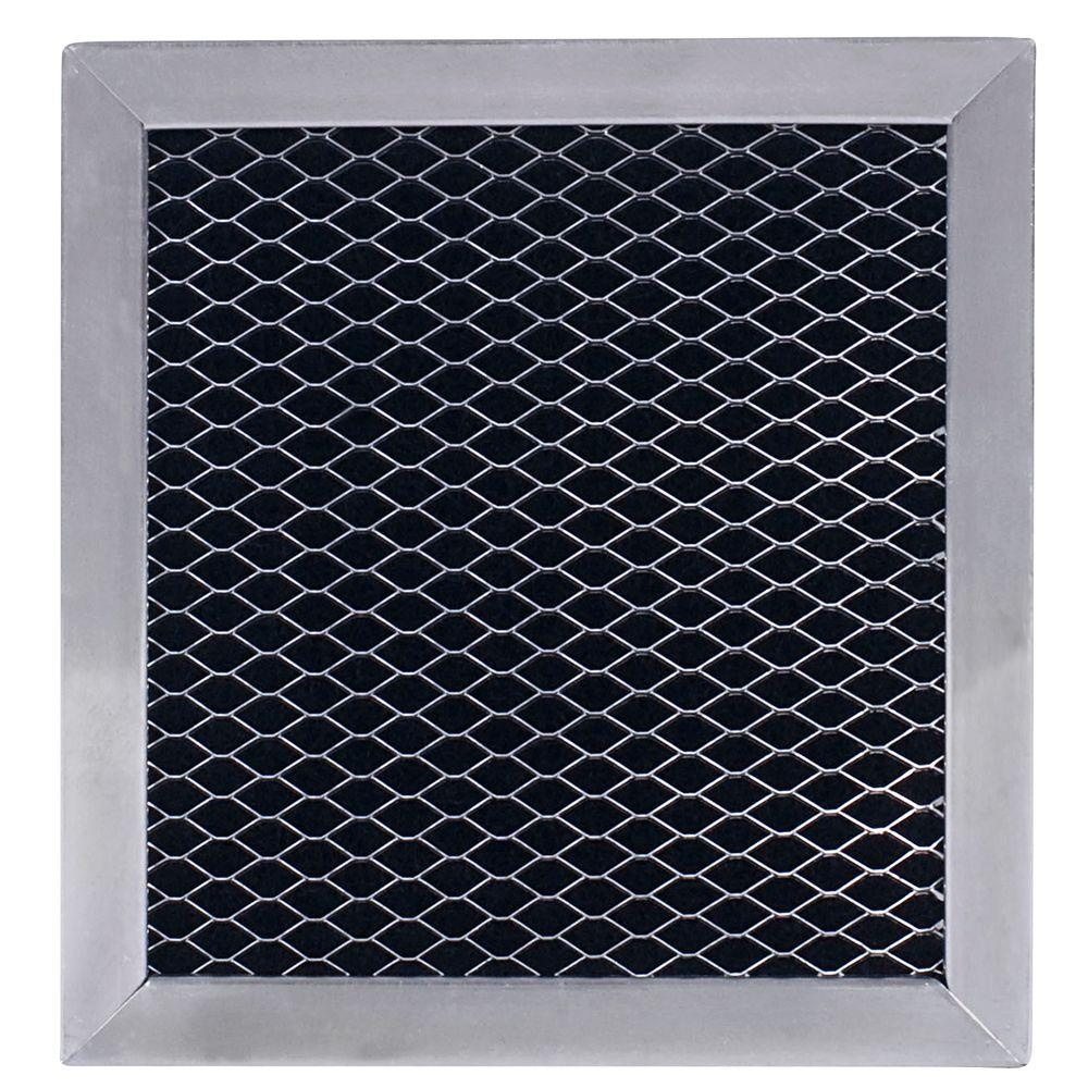 microwave hood charcoal replacement filter 8206230a the home depot