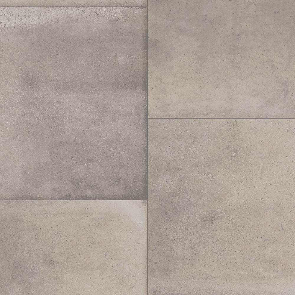 IVC Take Home Sample - Keaton Grey Stone Residential Sheet Vinyl Flooring - 6 in. x 9 in.