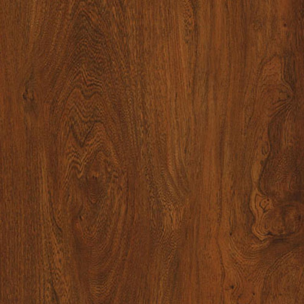 Trafficmaster take home sample allure ultra red mahogany for Mahogany flooring