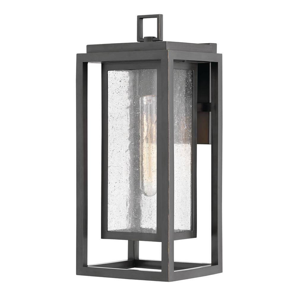 Hinkley Lighting Republic Medium 1 Light Oil Rubbed Bronze Outdoor Wall Lantern