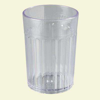 Carlisle 8 oz. SAN Plastic Tumbler in Clear (Case of 72) by Plastic Tumblers