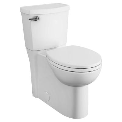 Cadet 3 FloWise 2-Piece 1.28 GPF Single Flush Right Height Round Front Toilet with Concealed Trapway in White