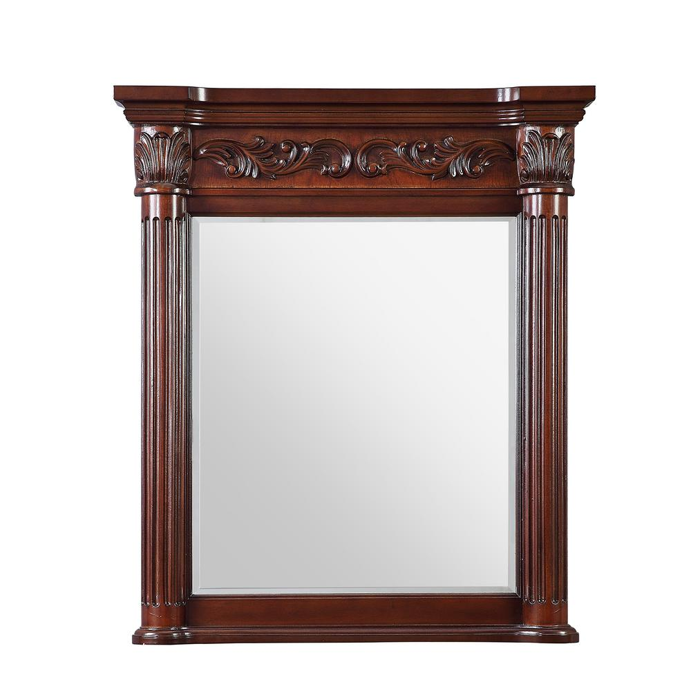 Home Decorators Collection Estates 34 in. L x 28 in. W Single Wall Mirror