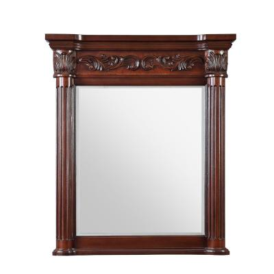 Estates 34 in. L x 28 in. W Single Wall Mirror